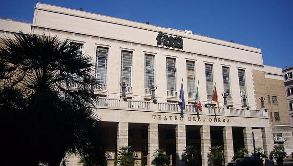 Римский оперный театр. Архив