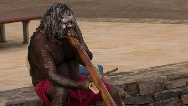 Австралийский абориген. Архив
